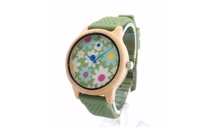 Timbers.co: Wooden Watch Lila Series Men Women Maple Wood Wrist Watch