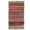 Handmade Reversible Siam Stripe Multi Accent Rug