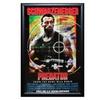 Predator-Cast incl.Arnold Schwarzeneger Signed Movie Poster Wood Frame
