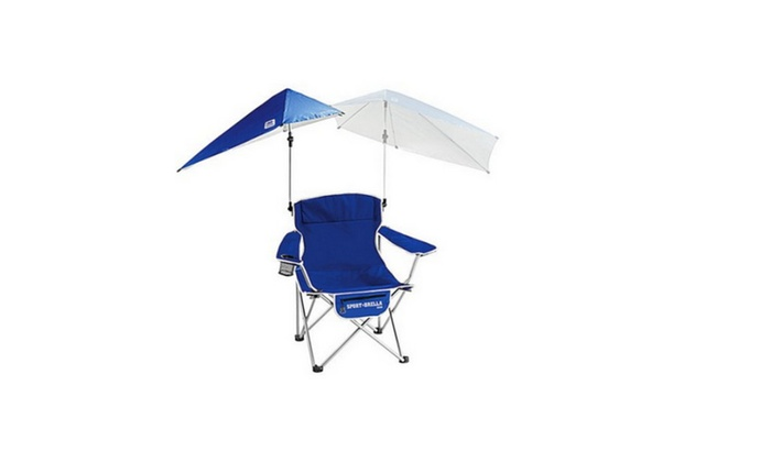 Cool Sport Brella Folding Chair With Detachable Umbrella Blue Gmtry Best Dining Table And Chair Ideas Images Gmtryco