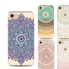 2pcs Painted Mandala Tpu Phone Shell For Samsung5/S6/S7/S8