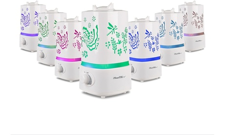 7-Color LED Ultrasonic Air Humidifier and Aroma Diffuser 7e51911b-2810-4105-a3d5-805cc571280b