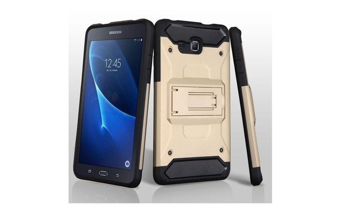 Groupon Goods: For Samsung Galaxy Tab A 7 Kinetic Hybrid Protective Case Cover