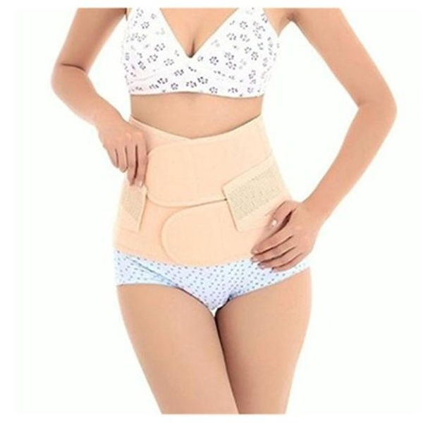 b8a15af55 Women Postpartum Girdle Corset Recovery Belly Band Wrap Belt