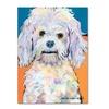 Pat Saunders-White 'Lulu' Canvas Art