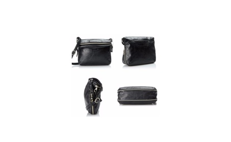 Relic Cora EW Crossbody Black Purse (Goods Women's Fashion Accessories Handbags Cross-Body) photo