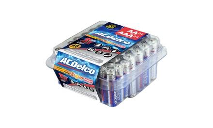 ACDelco Maximum Power Alkaline AA and AAA Batteries 48 pack (24 AA and 24 AAA)