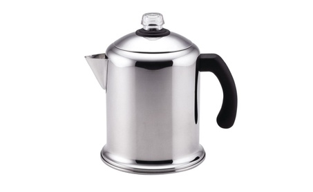 Farberware 50124 Yosemite Coffee Percolator, Stainless Steel, 8 Cups 460633ee-b8db-4d00-82a3-b40a047971cd