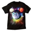 Disney Planet Mickey Mouse Men T Shirt