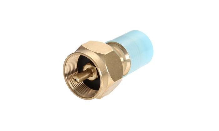 Propane Refill Adapter Lp 1 Lb Cylinder Tank Coupler Heater Bottles Coleman