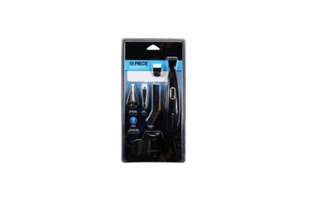 10-Piece Personal Groomer Nose and Ear Hair Trimmer 24e93e77-93c1-42ca-9921-db81b861a1f7