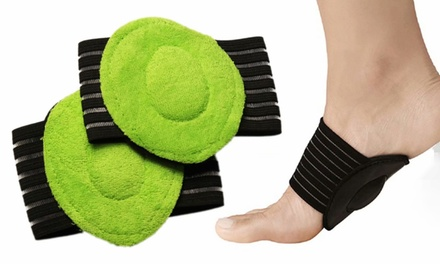 1 Pair Cushioned Plantar Fasciitis Foot Arch Supports