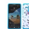 Insten Eiffel Tower Silicone Case For Alcatel One Touch Fierce XL Blue