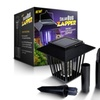 Solar-Powered Outdoor Bug Zapper / Mosquito Killer