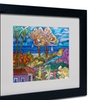 Manor Shadian 'House By the Beach' Matted Black Framed Art