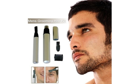 New Men's Facial Trimmer And Groomer Kit Nose Hair Trimmer Kit Personal Groomer 7c64cb86-dcb9-4b10-bb41-9914cbffcaf9