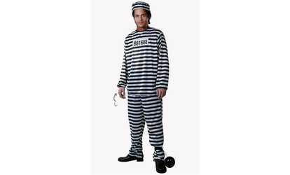 9692b8a183088 Shop Groupon Dress Up America 571-M Adult Prisoner -