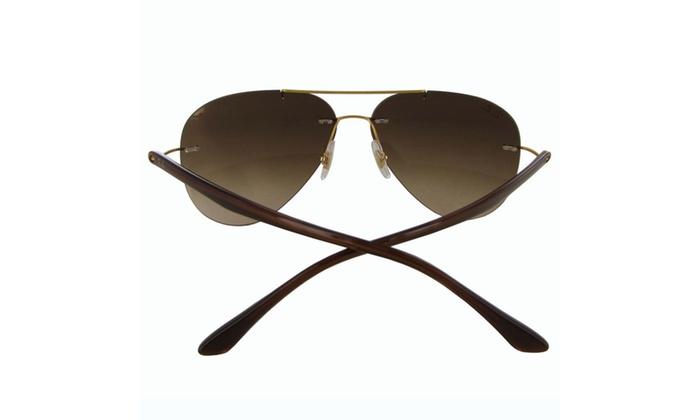 eff2b6f280 Ray Ban Mens RB8058 Polarized Sunglasses