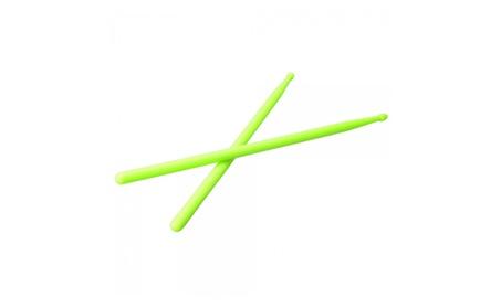 One Pair 5A Drumsticks Nylon Drum Sticks Light Green 8bab4394-3f5a-4d5f-be2f-fcb1c517efd5
