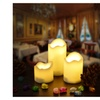 AGPTEK Flameless Flickering Candle Battery Operated 3PCS Votive Candle