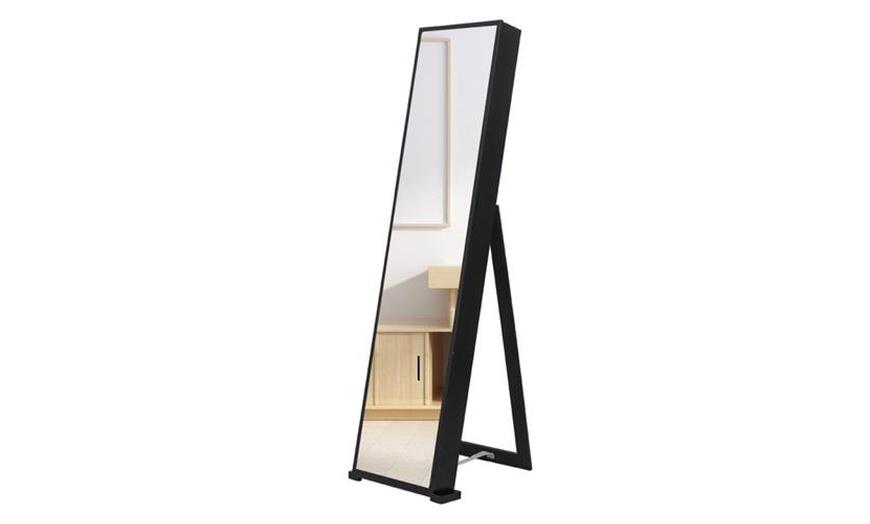 79 Led Jewelry Cabinet Storage, Free Standing Jewellery Mirror Nz