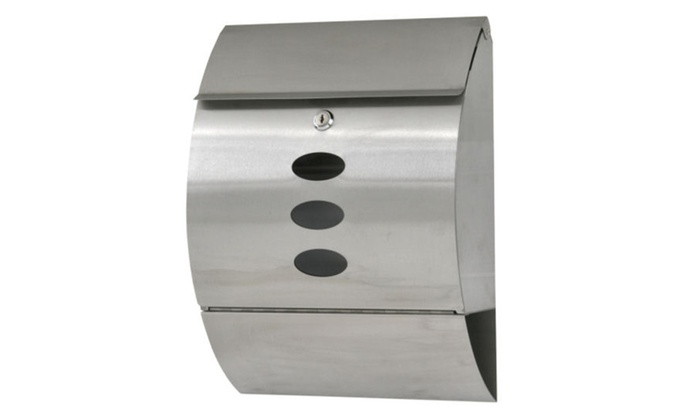 wall mount mailbox envelope. Steel Wall Mount Mail Box W/ Retrieval Door Newspaper Roll Envelope US Wall Mount Mailbox Envelope