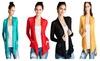 Ajai Apparel: Long Sleeve Lightweight Cardigan