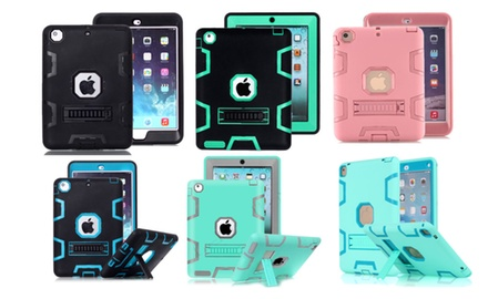 Shockproof Heavy Duty Case Stand for iPad Mini 1/2/3, 2/3/4, Air 1/2