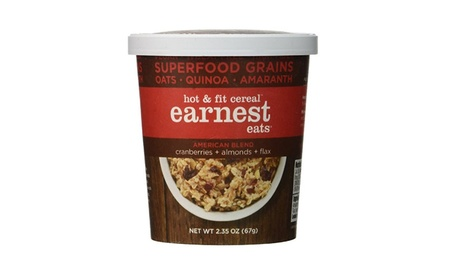 Earnest Eats Hot Fit Cereal American Blend 2.35 oz. - Pack of 12 5cdfb887-ee3f-40fa-a814-78fe3ef85998