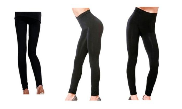 5-in-1 Effective Breathable Fashion Thermal Cellu-Trim Women Leggings