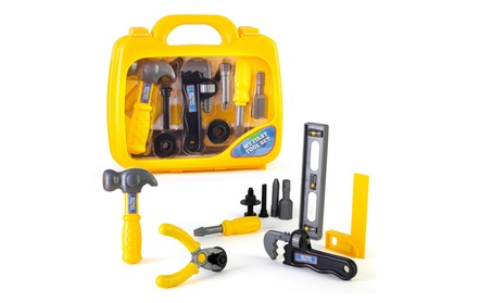 My First Tool Set in Sturdy Carry Case Toolbox Pretend Play Safe Tools 6847770c-c435-498e-9fd9-84481f56568d