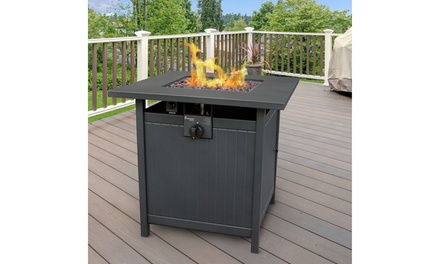 Welsey Gas Fire Table