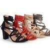 Journee Collection Womens Strappy Tassel High Heels