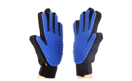 Pet Grooming Cleaning Magic Glove Hair For Dirt Remover Brush (1 Pair) 0aabd735-cfd5-4b57-b907-bd99ccb5d23b