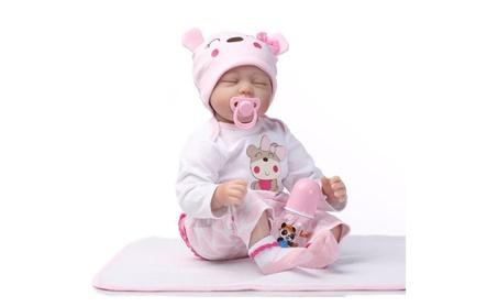 """22"""" Realistic Reborn Baby Doll Full Body Silicone Vinyl Handmade Dolls 98084067-8b7d-4a95-980b-8607f5f84cef"""
