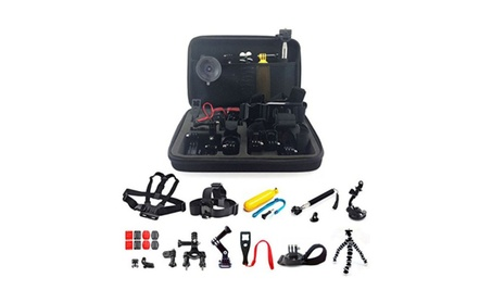 26in1 Head Chest Mount Floating Monopod Accessories Kit For Gopro 05086c54-3f17-4d9b-9d27-58dacb24c25e