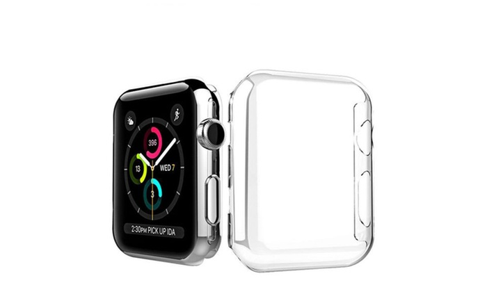big sale 68365 c8b3c For Apple Watch Series 3 2 1 Ultra Thin Clear Protective Case Cover 38mm  iWatch