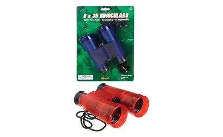 Toysmith TS6917 Field Binoculars - Red/Blue a36f6a5a-f50e-47b5-a5ed-0a0d3af7af32