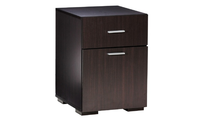 Great 50 2401ES Modern 2 Drawer Lateral File Cabinet, Espresso ...