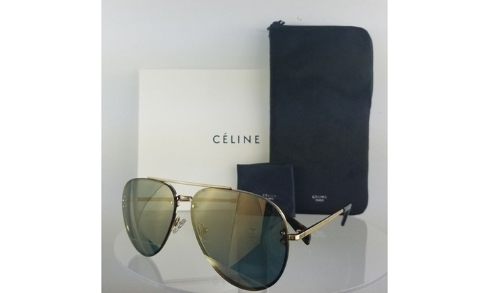 1827c8a97466e Up To 66% Off on Céline Sunglasses MIRROR CL 4...