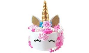 Unicorn Cake Topper Set (6-Piece)