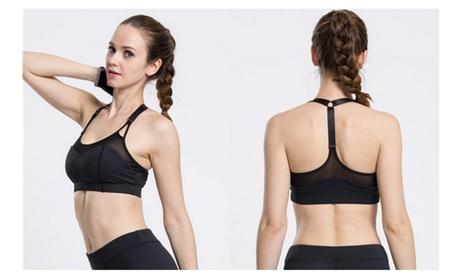 Women's Gym Yoga Running Adjustable Sports Bra 1ea0bfd3-19bd-48e8-947b-04f99fb1e3d8