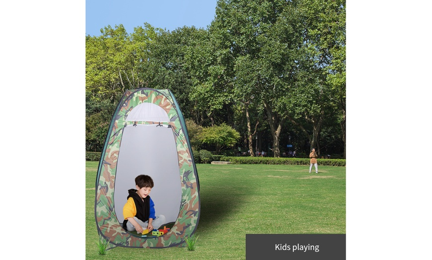 Pop-Up Tent Outdoor Camping Toilet Shower Instant Changing Privacy Room Gifts