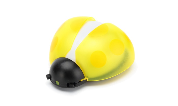 Beeuto Ladybug LED Baby Night Light Voice and Light Sensor