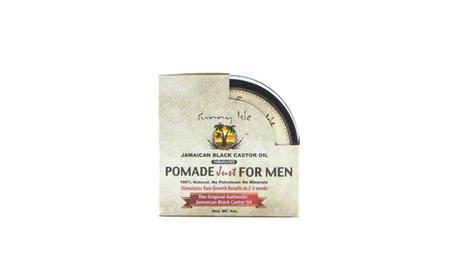 Jamaican Black Castor Oil Hair Pomade for Men W Blend of Natural Oils & Beeswax