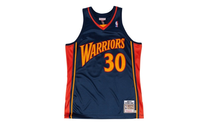 new style ecf97 1055b Mitchell & Ness Stephen Curry 2009-10 Jersey Golden State Warriors