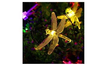 Outdoor Dragonfly Solar String Lights 6faa7aec-c5d5-4542-8daf-302f0f1870fa