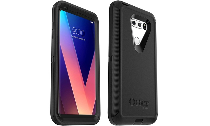 best website fe788 32665 OtterBox DEFENDER EDITION Case & Holster for LG V30/V30P/V30S ThinQ ...