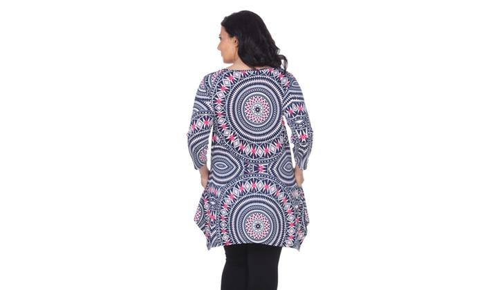 8c279c79f8e White Mark Women's Plus Size 'Maji' Tunic | Groupon