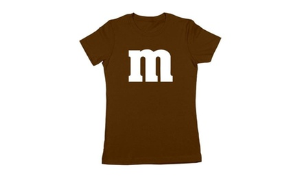 M Chocolate Candy Costume Outfit Halloween Set Shirt